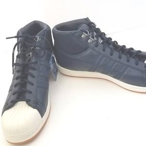 New Adidas Ortholite men's high top sneakers shoes
